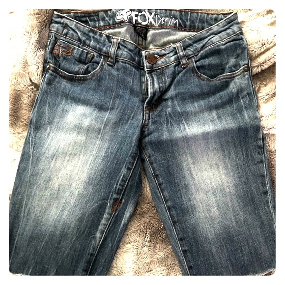 Fox Pants - Fox Jean shorts